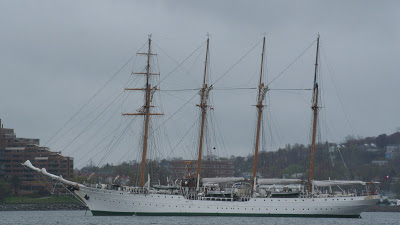 Chilean Navy Barquentine Esmeralda due today
