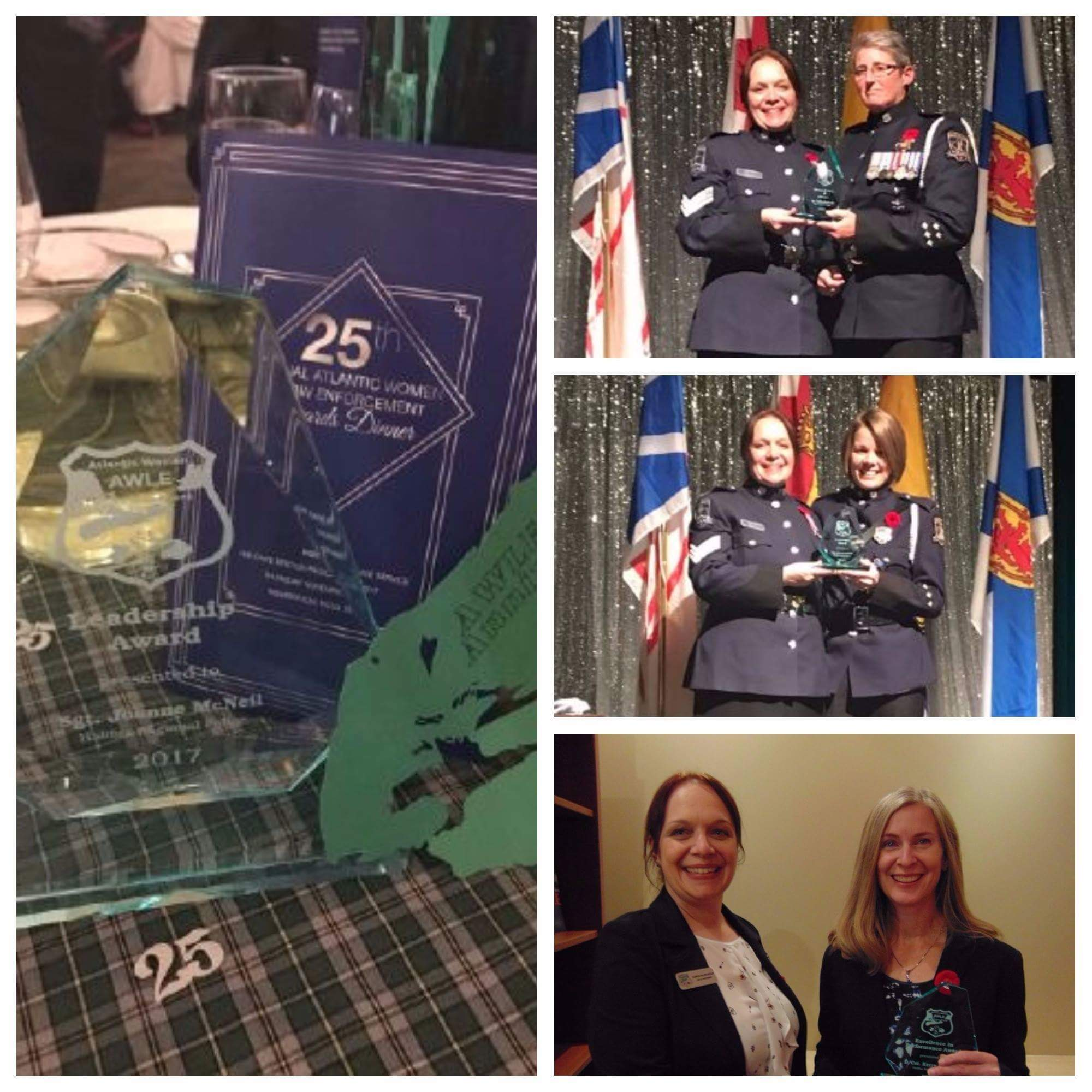 Three Halifax Regional Police officers win Atlantic Women in