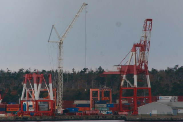 Cranes Coming Down