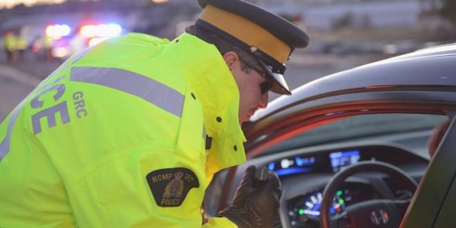 Traffic stop RCMP