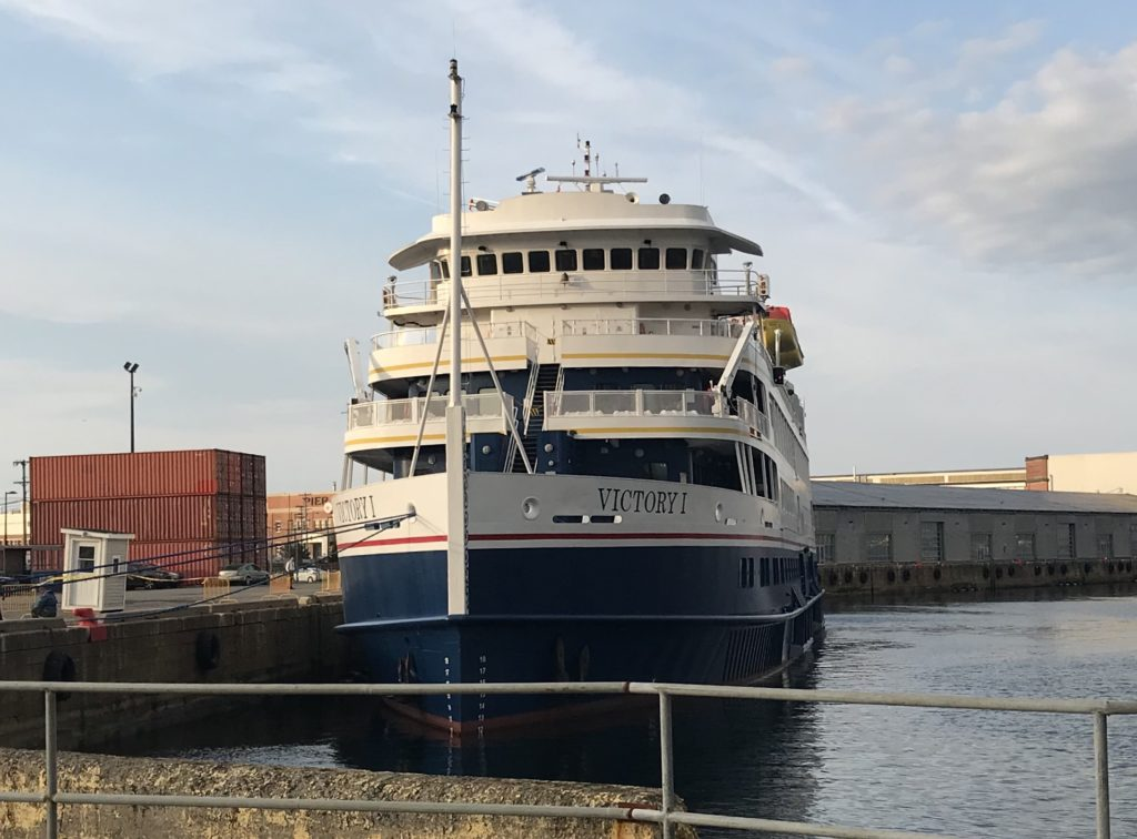 Yesterdays Cruise Ship – Victory 1