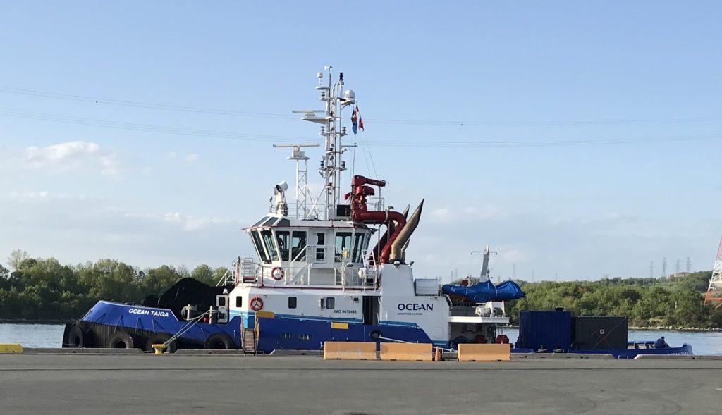 Ocean Taiga Bound for Jamaica