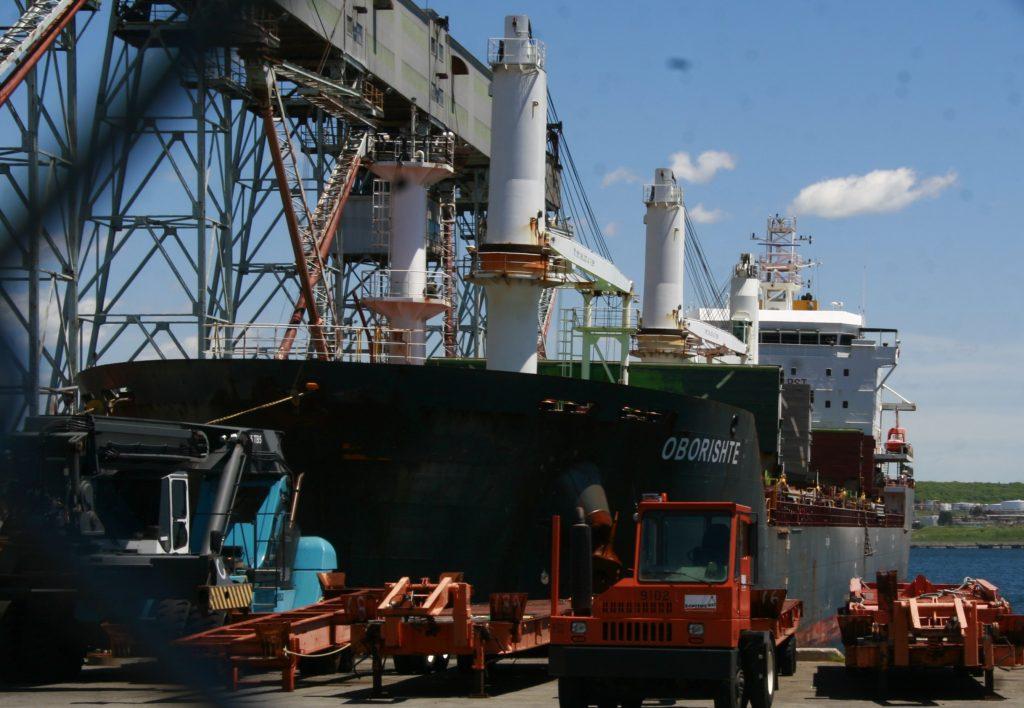 Working the Ocean Terminals.