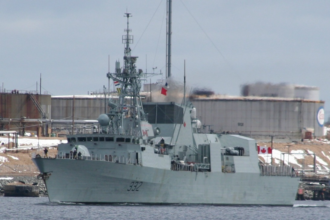 HMCS Ville De Quebec Sails for Med Tomorrow