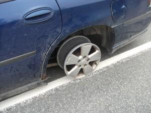no tire 1