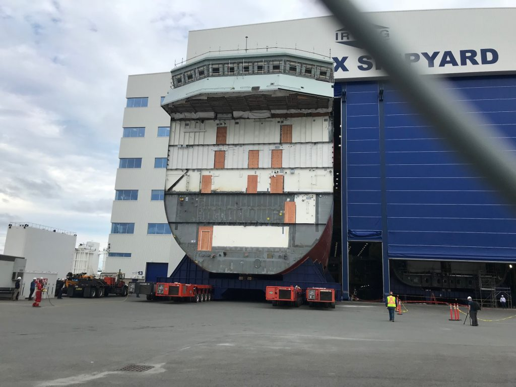AOPS 2 Center Mega Block Rolls out.