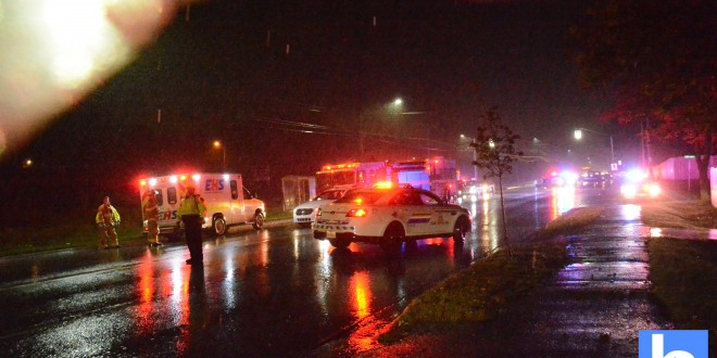 Pedestrian struck by vehicle investigation – Eastern Passage