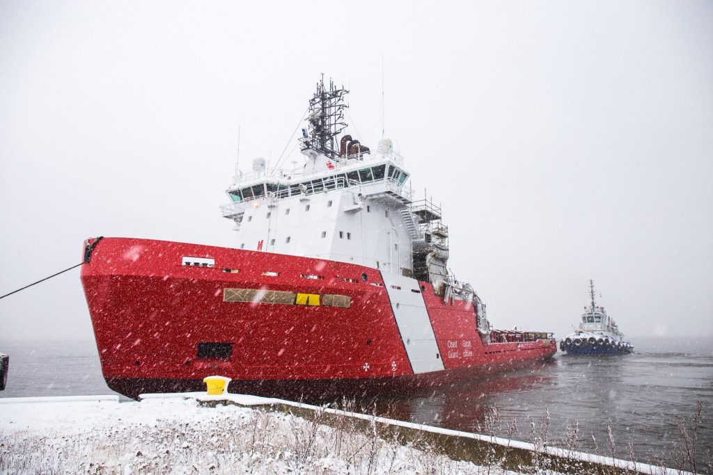 Coast Guard Icebreaker, Ex Vidar Viking's New Name revealed.