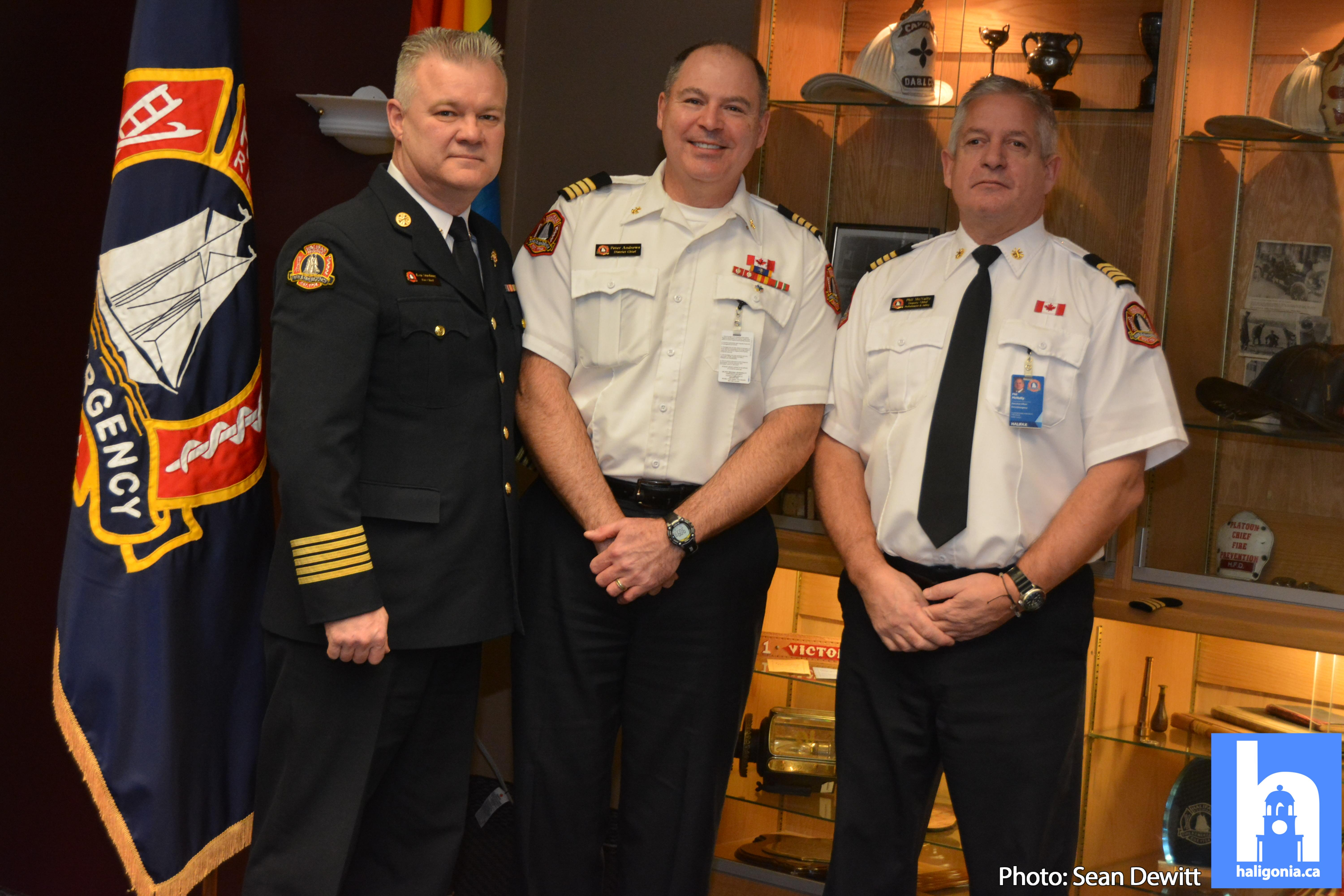 HRFE promotions stay local during ceremony in Dartmouth