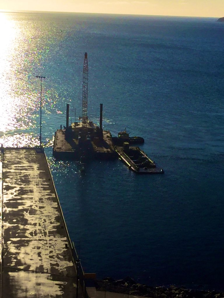 Dredging underway for Pier Expansion