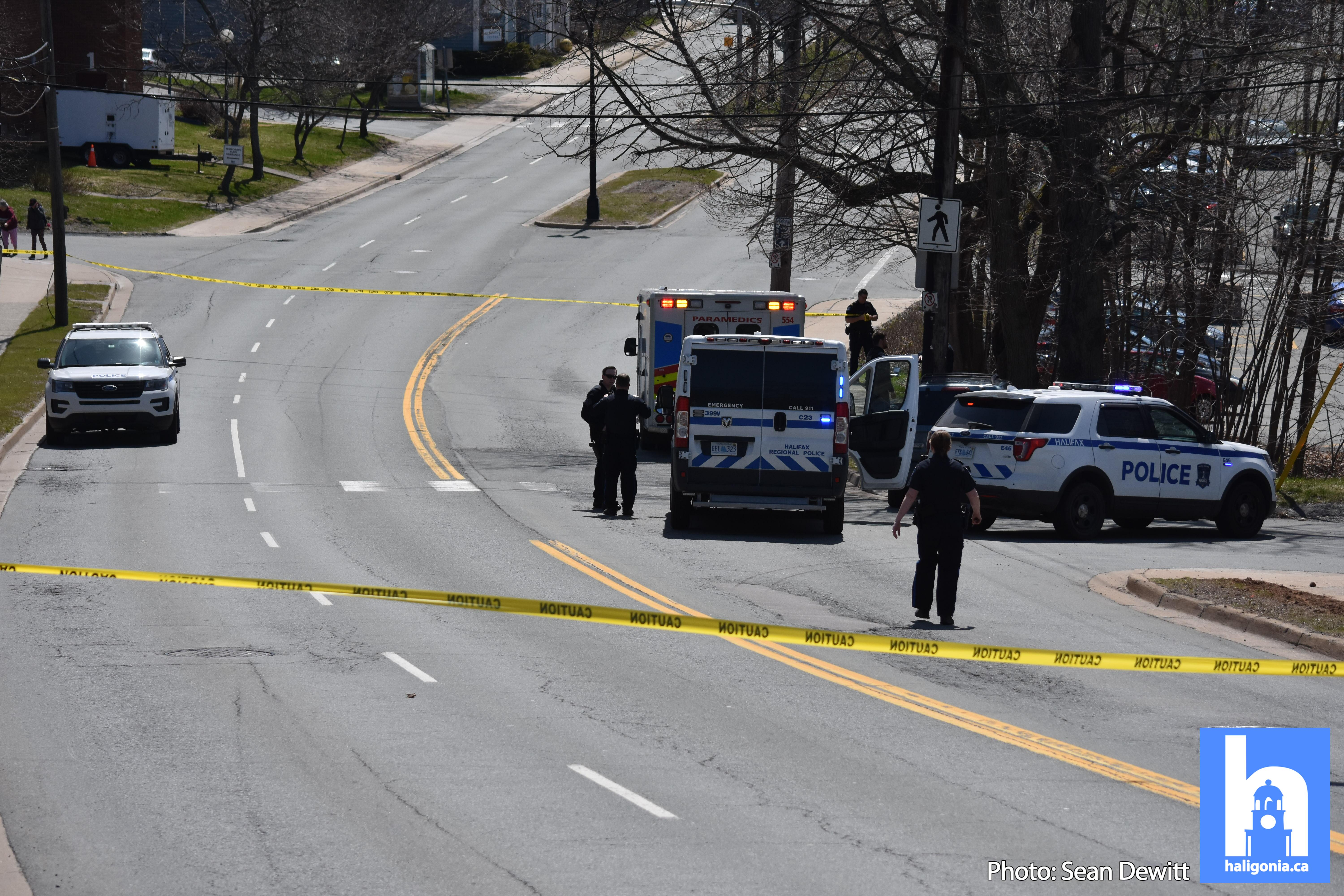 Police are investigating cyclist/motor vehicle collision in